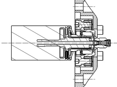 bf1systems Top Mount Loadcell Cross Section